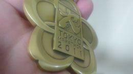 東京マラソン完走メダル